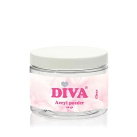 Diva | Acryl poeder clear 20 gram