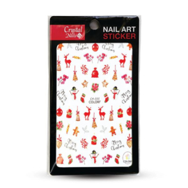 CN | Nail Sticker (CA-335) Xmas Feeling
