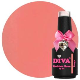 Diva | Rubber base Rouge 15ml