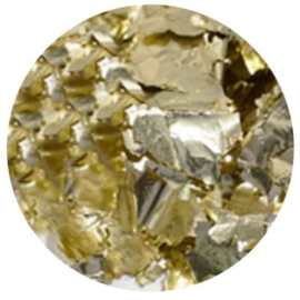 Diva | Metallic Foil Flakes Champagne Silver Flakes 5gram