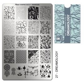 Moyra | Stampingplate #27 Dreamology