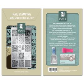Moyra | Mini Stampingkit 107