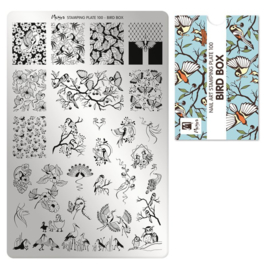 Moyra | Stampingplate 100 - Bird Box