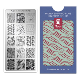 Moyra | Mini Stampingplate #115 Happily Ever After