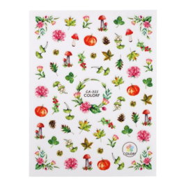 CN | Nail Sticker Forest Walk (Ca-355)