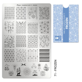Moyra | Stampingplate #71 Frozen