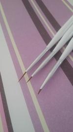 Striperpenselen (3 delig)