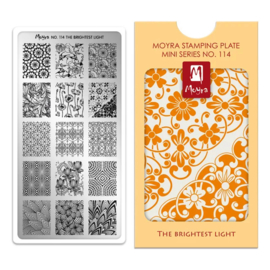 Moyra | Mini Stampingplate #114 The Brightest Light