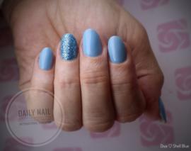 Daily Nail - Shell Blue