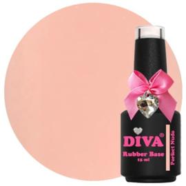 Diva | Rubber base Perfect Nude 15ml