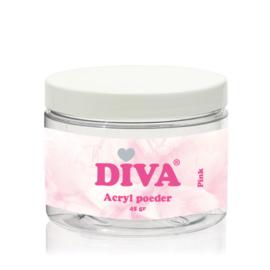 Diva | Acryl poeder Pink 45 gram