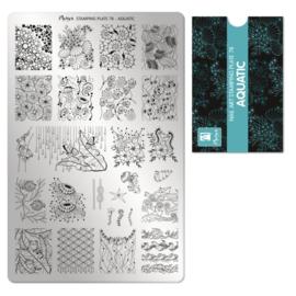 Moyra | Stampingplate #78 - Aquatic
