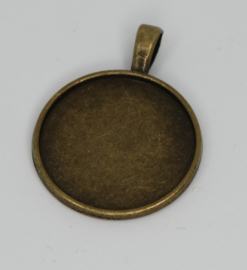 Medaillon rond brons