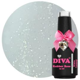 Diva | Rubber base White Luxury 15ml