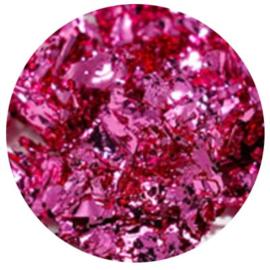 Diva | Metallic Foil Flakes Bright Pink 5gram