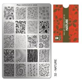 Moyra | Stampingplate #32 Nature