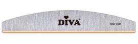 Diva | Zebra Halfmoon 100/100 grit