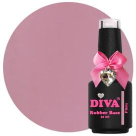 Diva | Rubber base Plum 15ml