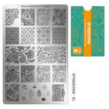 Moyra | Stampingplate #19 Maharaja