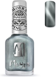 Moyra   Stempel lak SP30 - Cateye Magnetic Silver