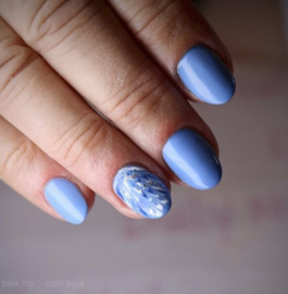 Daily Nail - Lory Blue