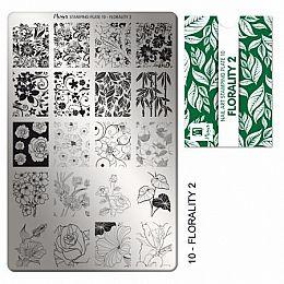 Moyra | Stampingplate #10 Florality 2