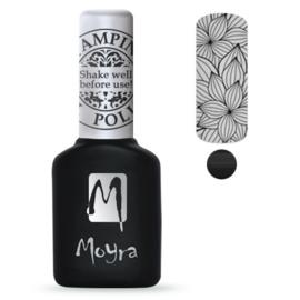 Moyra Stamping GelPolish SGP01 Black