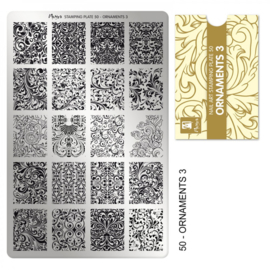 Moyra | Stampingplate #50 Ornaments 3