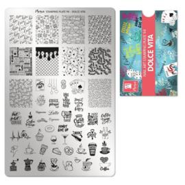 Moyra | Stampingplate 94 - Dolce Vita