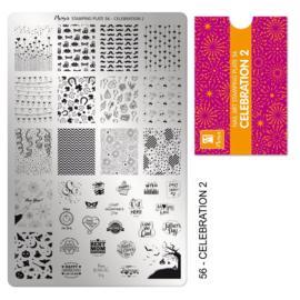 Moyra | Stampingplate #56 Celebration 2