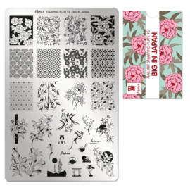 Moyra | Stampingplate 95 - Big in Japan