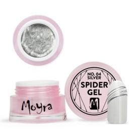 Moyra   Spidergel Zilver