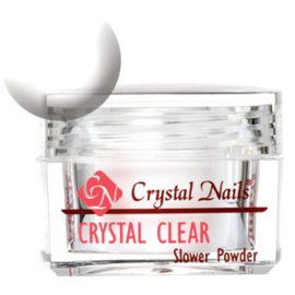 [Crystal Nails] Slower powder Crystal Clear 28 gram