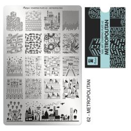Moyra | Stampingplate #62 Metropolitan