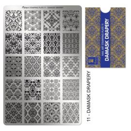 Moyra | Stampingplate #11 Damask Drapery