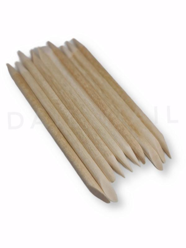 DN   Woodsticks Wooden Sticks Wood Sticks - Bokkenpootje - Houten Pro Pusher 10pcs