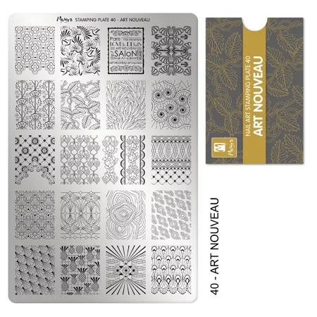 Moyra | Stampingplate #40 Art Nouveau