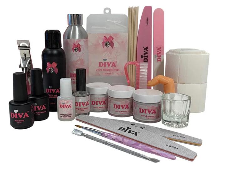 Diva   Professional Acryl Pakket (met stap voor stap handleiding)