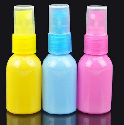 Lege sprayfles geel 75ml