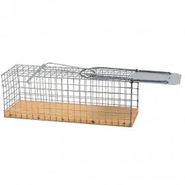 Rattenvangkooi met houten boden