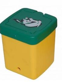 Drinkfles konijn 0,50 liter (geel)