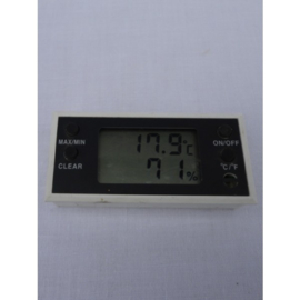 Digitale Broedthermometer-Hygrometer