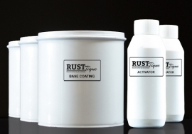 RustTique Rough StarterKit  6-8 m2, Met voelbare structuur.