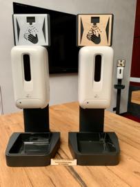 Brookfield Sanitiser ManibusXP Desinfectie, zuilen en  tafelmodel