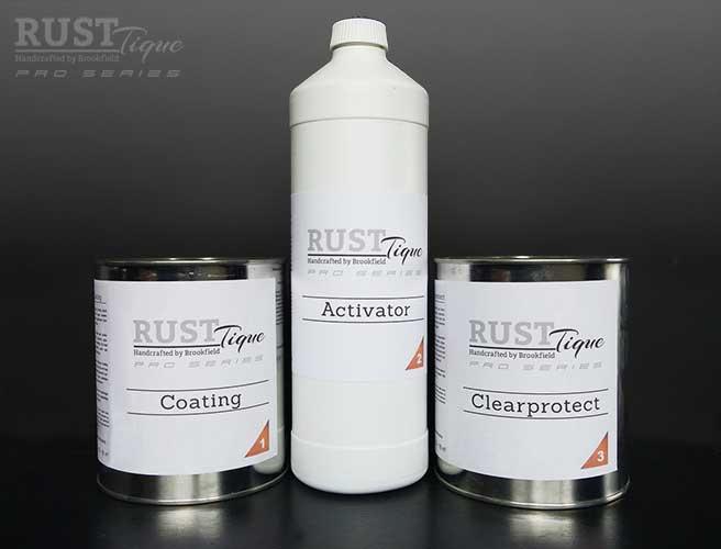 -NIEUW-     RustTique Pro series Kennismakingsset voor 6-8 m2