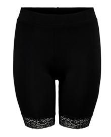 6343 Cartime shorts met kant zwart t/m 54