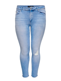 6349 Jeans Carwilly life reg ank sk ank RAW  light blue t/m 54