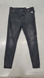 6352 Jeans Carlaola hw skinny ank 853 black denim