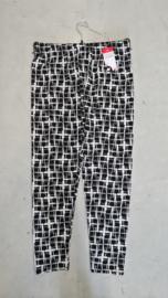 7016 Legging print blok zwart-wit  t/m 58