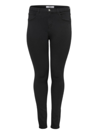 6364 Jeans Carstorm push up hw sk black